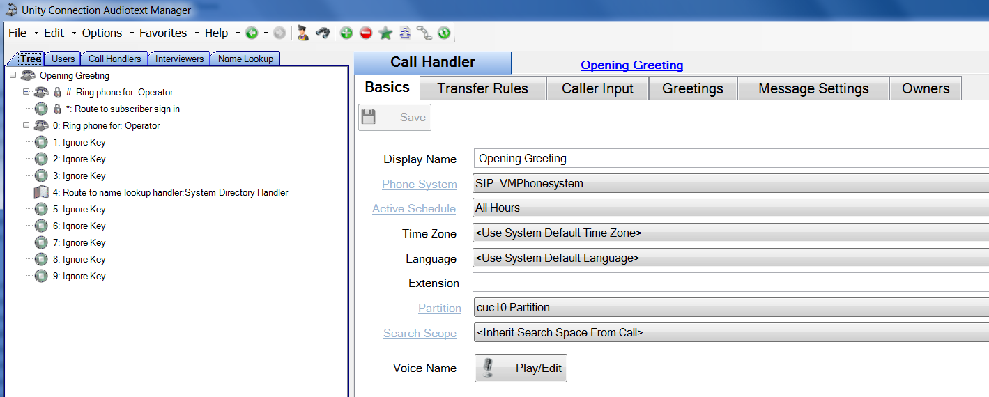 Cisco Unity Connection Audiotext Manager Installation