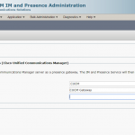 Step by Step Cisco IM & Presence Configuration