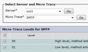 SMTP Email delivery verification on Cisco Unity Connection
